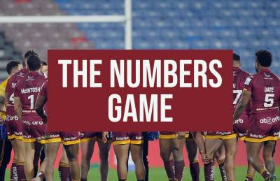 THE NUMBERS GAME: GIANTS VS ST HELENS