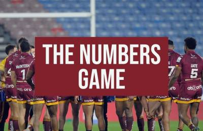 THE NUMBERS GAME: GIANTS VS ROVERS