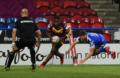 ALL THE TRIES: GIANTS VS HULL KR