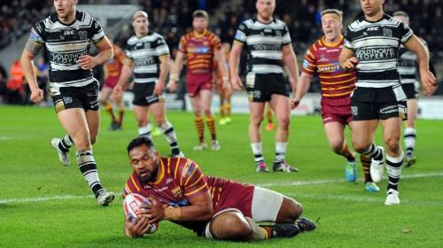 Hull FC v Huddersfield Giants<br> R1 - Betfred Super League <br>1st February 2018