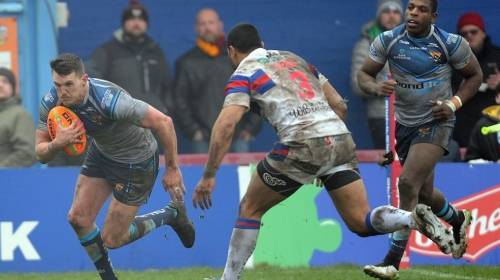 Wakefield Trinity v Huddersfield Giants<br>R4 - Betfred Super League<br>4th Mar 2018
