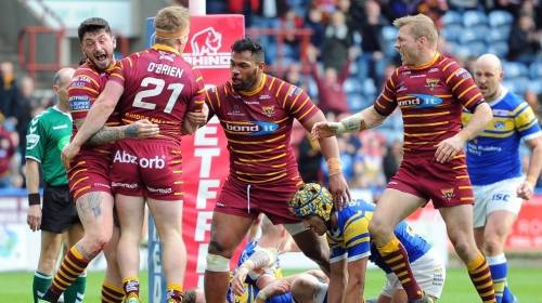 Huddersfield Giants v Leeds Rhinos<br>R8 - Betfred Super League<br>30th Mar 2018