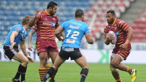 Huddersfield Giants v Salford Red Devils<br>R11 - Betfred Super League<br>15th April 2018