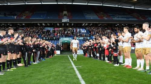 Michael Lawrence Testimonial<br>Huddersfield Giants v Bradford Bulls<br>13th Jan 2019