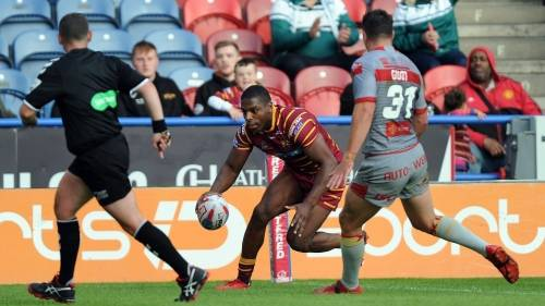 Huddersfield Giants v Catalan Dragons<br>R18 - 16th Jan 2019