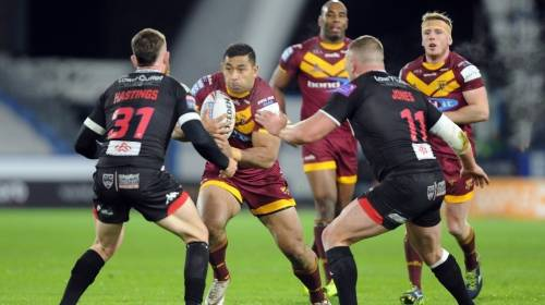 Huddersfield Giants v Salford<br>R1 - 11th Feb 2019